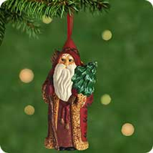 2001 Old World Santa Hallmark ornament