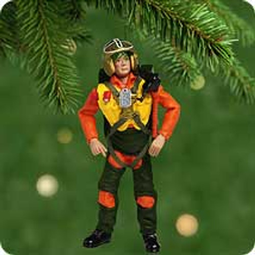 2001 GI Joe Fighter Pilot Hallmark ornament