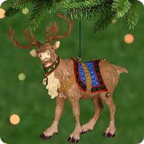 2001 Ready Reindeer Hallmark ornament