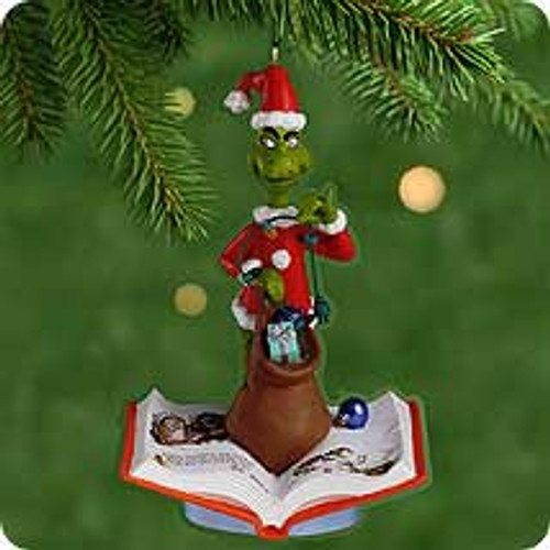 2001 Grinch -What A Grinchy Trick Hallmark ornament