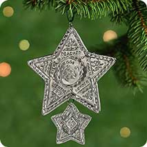 2001 Guiding Star Hallmark ornament