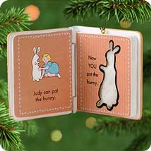 2001 Pat The Bunny Hallmark ornament