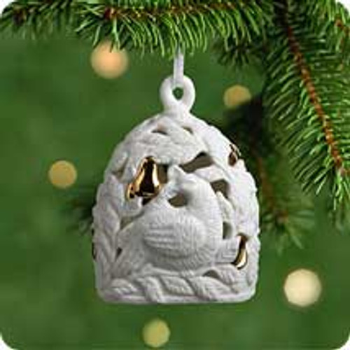 2001 Partridge In A Pear Tree Hallmark ornament