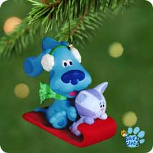 2001 Blue's Clues Hallmark ornament