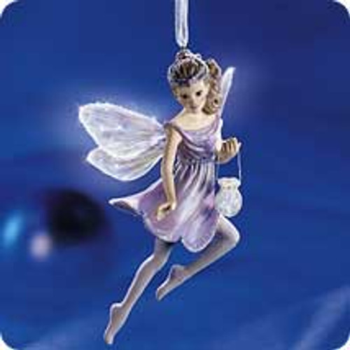 2001 Frostlight Faerie Brilliana Hallmark ornament