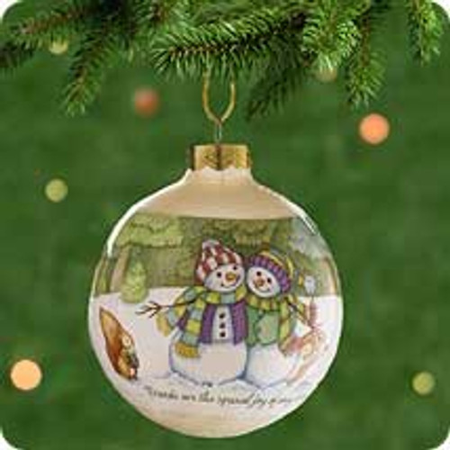 2001 Winter Friends Hallmark ornament