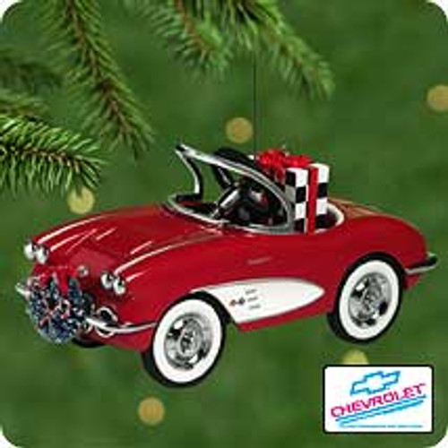 2001 Kiddie Car Classic - 1958 Custom Corvette Hallmark ornament