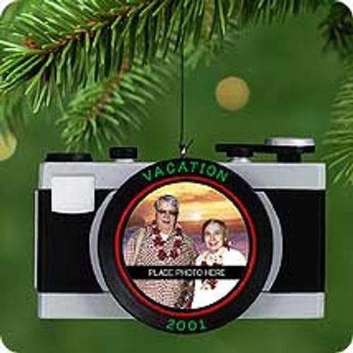 2001 Vacation - Photo Hallmark ornament