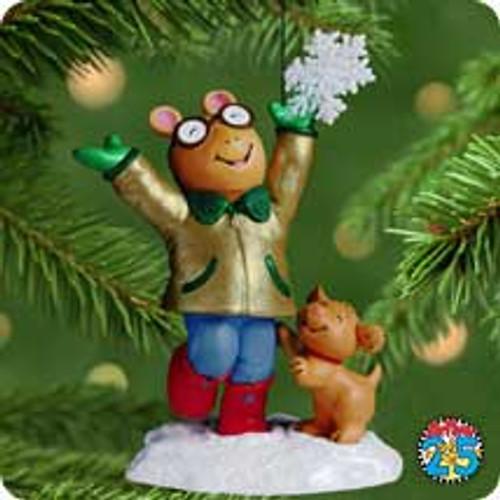 2001 A Perfect Christmas - Arthur Hallmark ornament