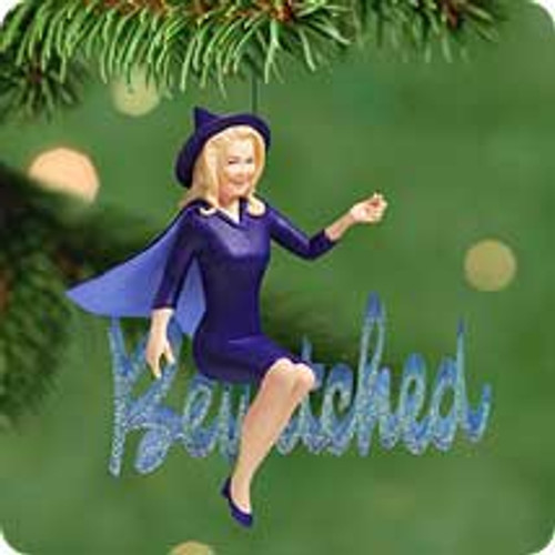 2001 Bewitched Hallmark ornament