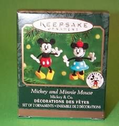2000 Mickey And Minnie Mouse - Mini