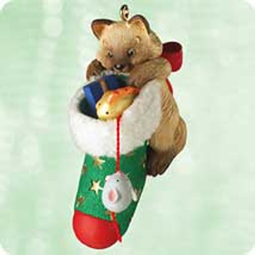 2003 Mischievous Kittens #5 Hallmark ornament