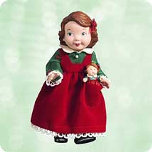2003 Mistletoe Miss #3F Hallmark ornament