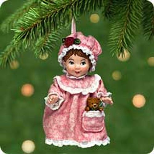 2001 Mistletoe Miss #1 Hallmark ornament