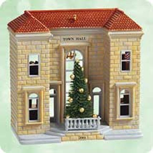 2003 Nostalgic Houses - Anniversary Hallmark ornament