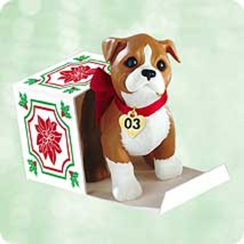 2003 Puppy Love #13 Hallmark ornament