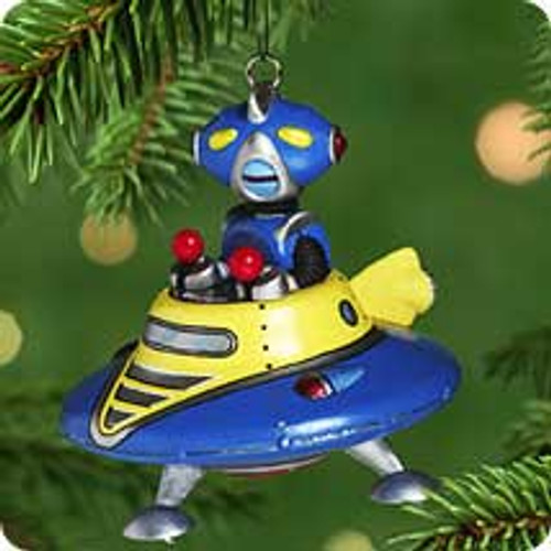 2001 Robot Parade #2 Hallmark ornament