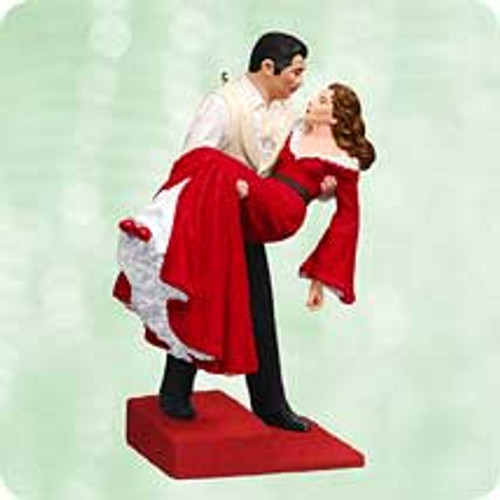 2003 Scarlett O'Hara With Rhett Hallmark ornament