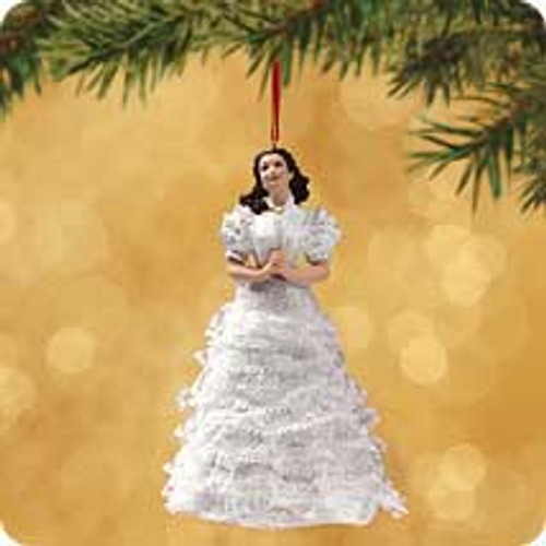 2002 Scarlett O'Hara Hallmark ornament