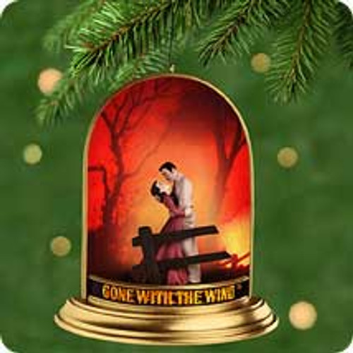 2001 Gone With The Wind - Lighted Hallmark ornament