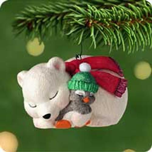 2001 Snowball and Tuxedo #1 - A Little Nap Hallmark ornament