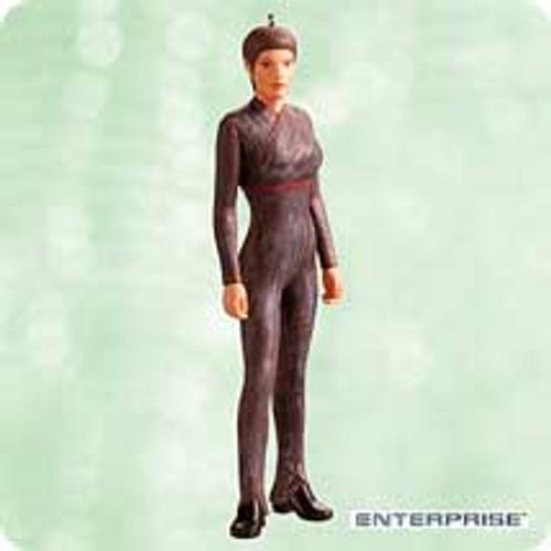 2003 Star Trek - T'Pol Hallmark ornament