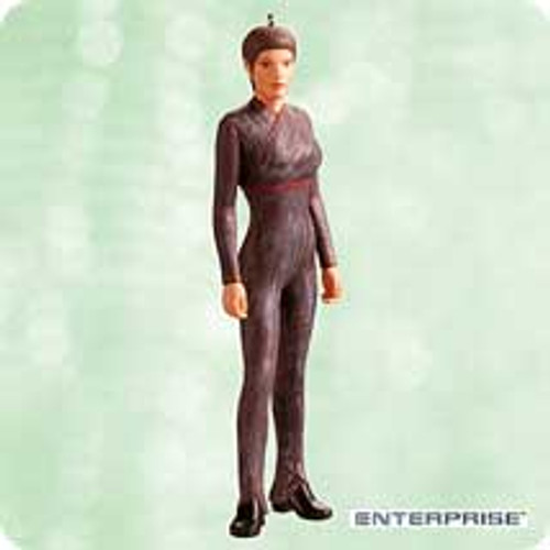 2003 Star Trek - T'Pol Hallmark ornament