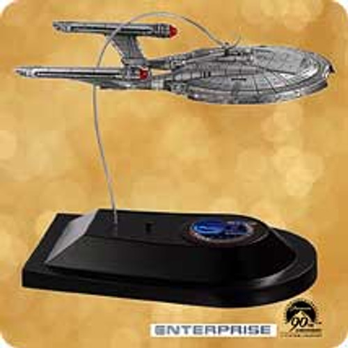 2002 Star Trek - USS Enterprise Hallmark ornament