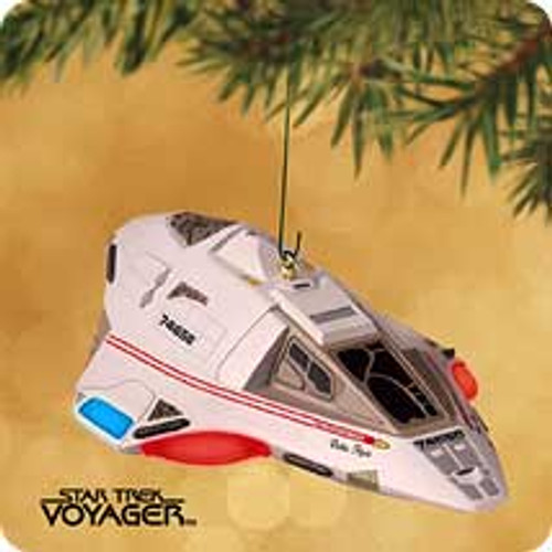 2002 Star Trek #12 - Delta Flyer Hallmark ornament