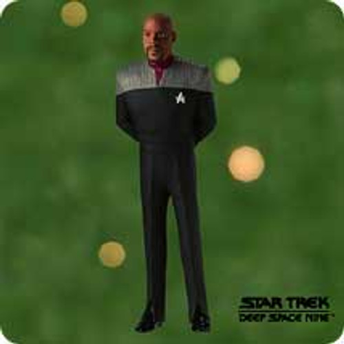 2001 Star Trek - Sisko Hallmark ornament