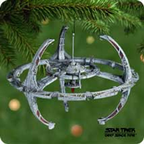 2001 Star Trek - Space Station Hallmark ornament
