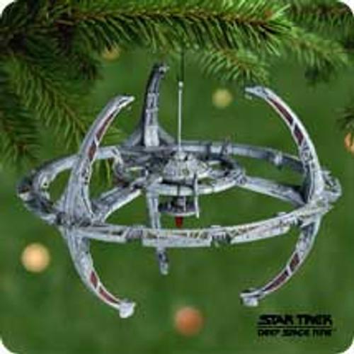 2001 Star Trek - Space Station Hallmark ornament