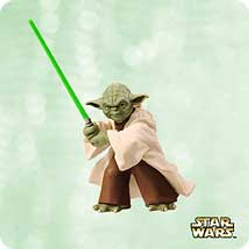 2003 Star Wars - Yoda Hallmark ornament