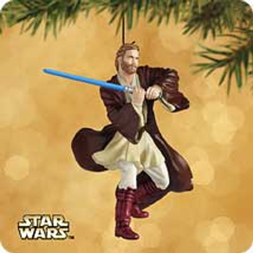 2002 Star Wars - Obi-Wan Kenobi Hallmark ornament