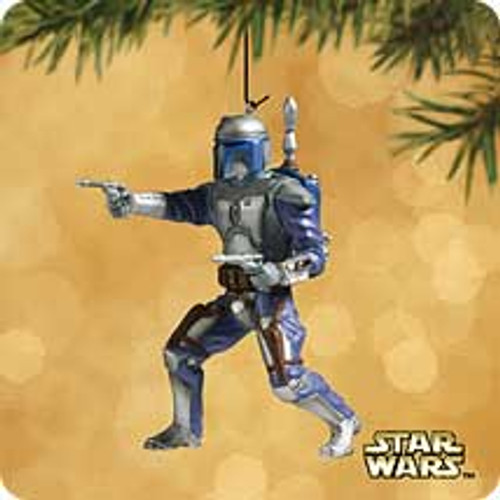 2002 Star Wars - Jango Fett Hallmark ornament