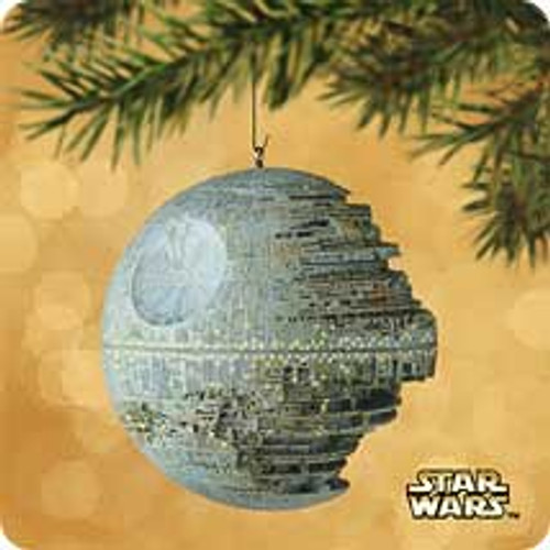 2002 Star Wars - Death Star Hallmark ornament