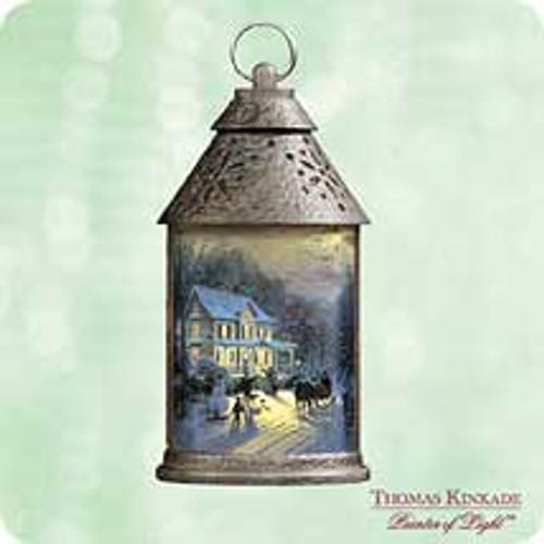 2003 Thomas Kinkade - Home For The Holidays Hallmark ornament