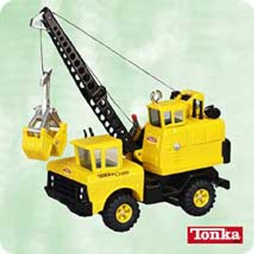 2003 Tonka - Mighty Crane Hallmark ornament