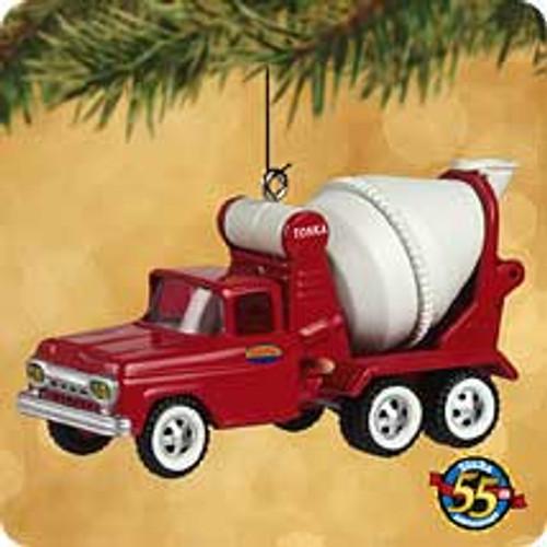 2002 Tonka - Cement Truck Hallmark ornament
