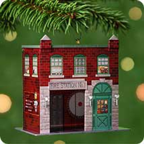 2001 Town and Country #3 - Firehouse Hallmark ornament