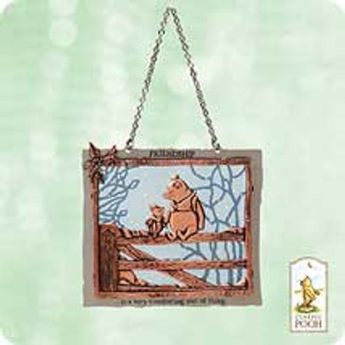 2003 Winnie The Pooh - Our Friendship Hallmark ornament
