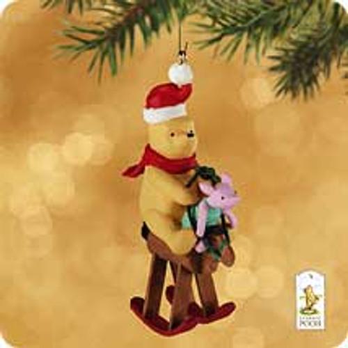 2002 Winnie The Pooh - Piglet's 1st Ride Hallmark ornament