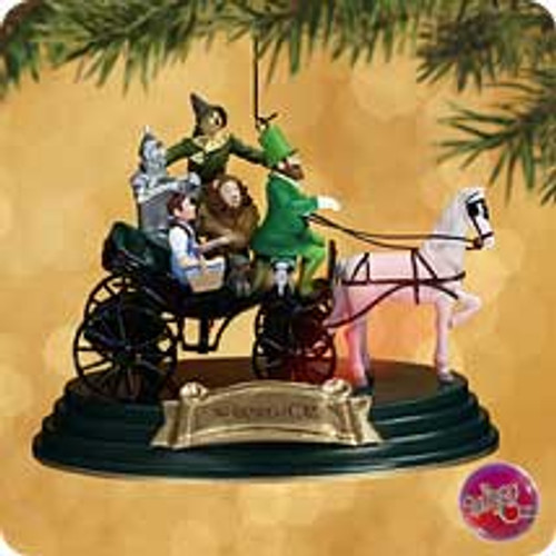 2002 Wizard Of Oz - Horse Of A Different Color Hallmark ornament