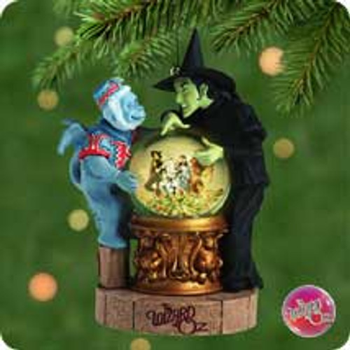 2001 Wizard Of Oz - Poppy Field Hallmark ornament