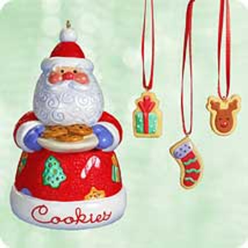 2003 Sweet Tooth Treats #2 - Santa Hallmark ornament