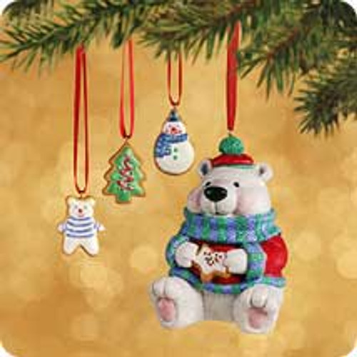 2002 Sweet Tooth Treats #1 - Bear Hallmark ornament
