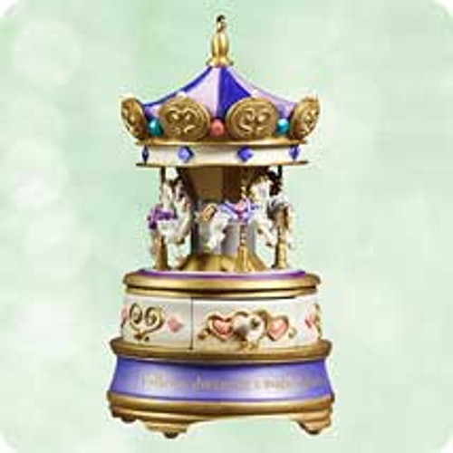 2003 Jewelry Box Carousel #2 Hallmark ornament