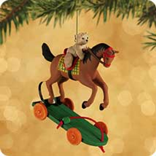 2002 A Pony For Christmas #5 Hallmark ornament