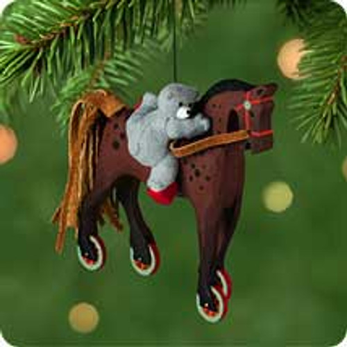 2001 A Pony For Christmas #4 Hallmark ornament