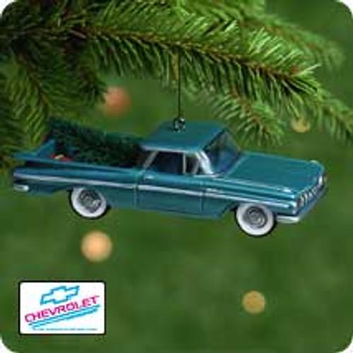2001 All American Trucks #7 - 1959 Chev. El Camino Hallmark ornament